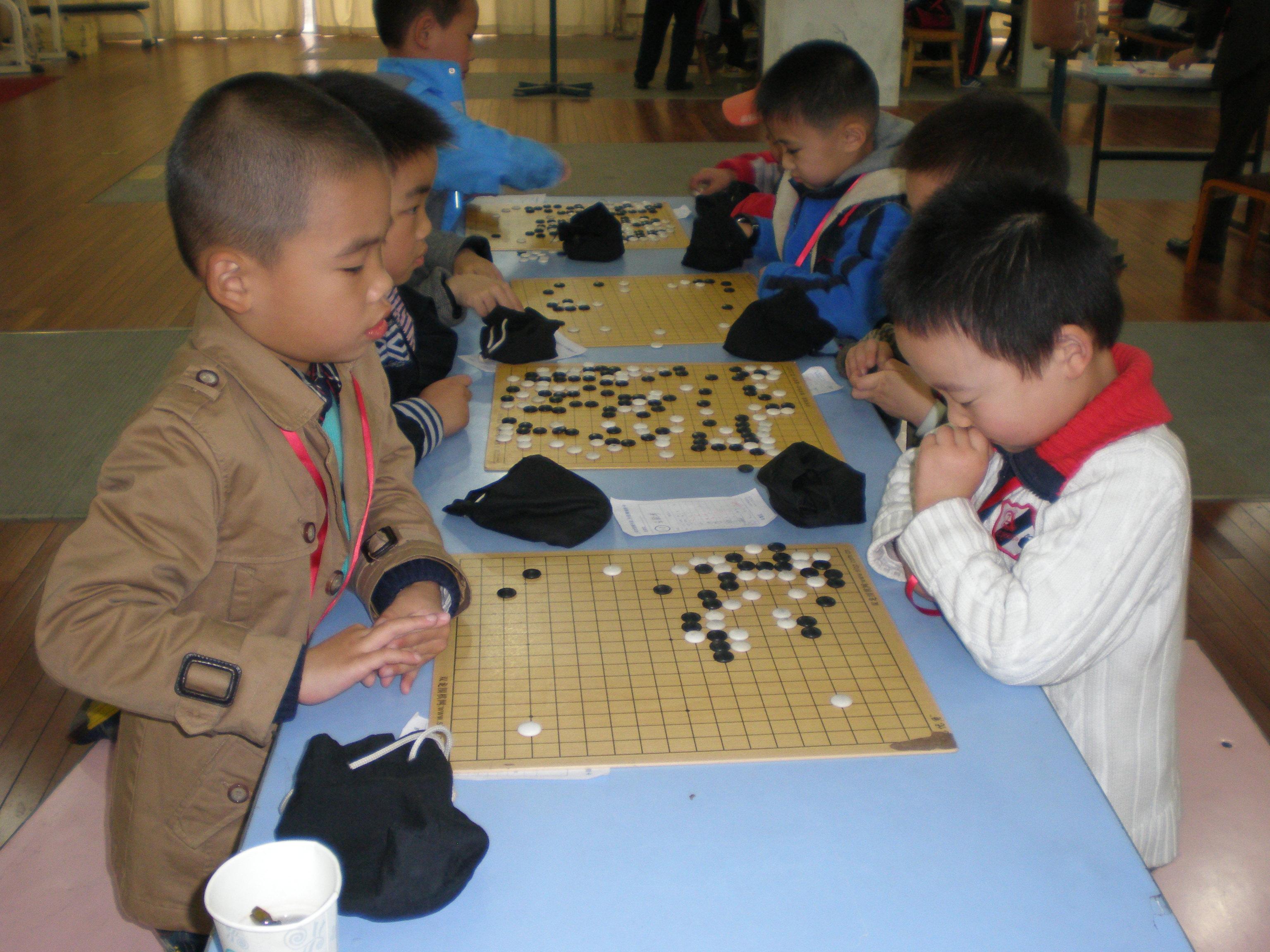 国际城市儿童围棋赛获团体亚军图片